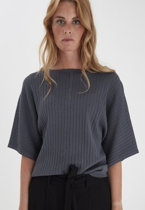 DRLEXIA  - Stickad tröja - folkstone gray