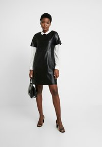 Opus - WASINE - Day dress - black - 2