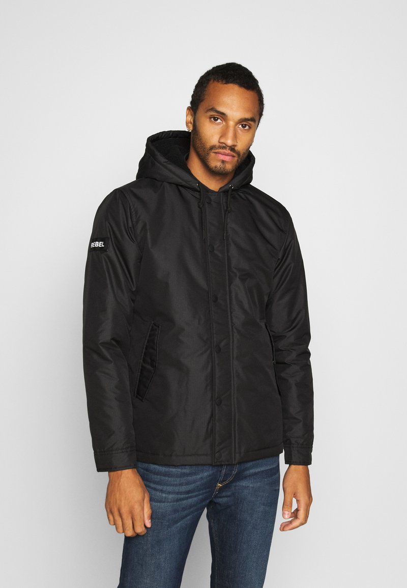 Redefined Rebel - RRGALAXY HOOD - Light jacket - black