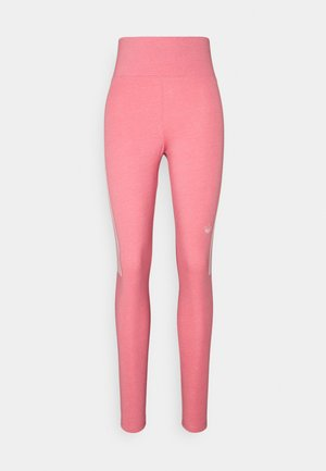 TIGHTS - Leggings - Trousers - hazy rose/white