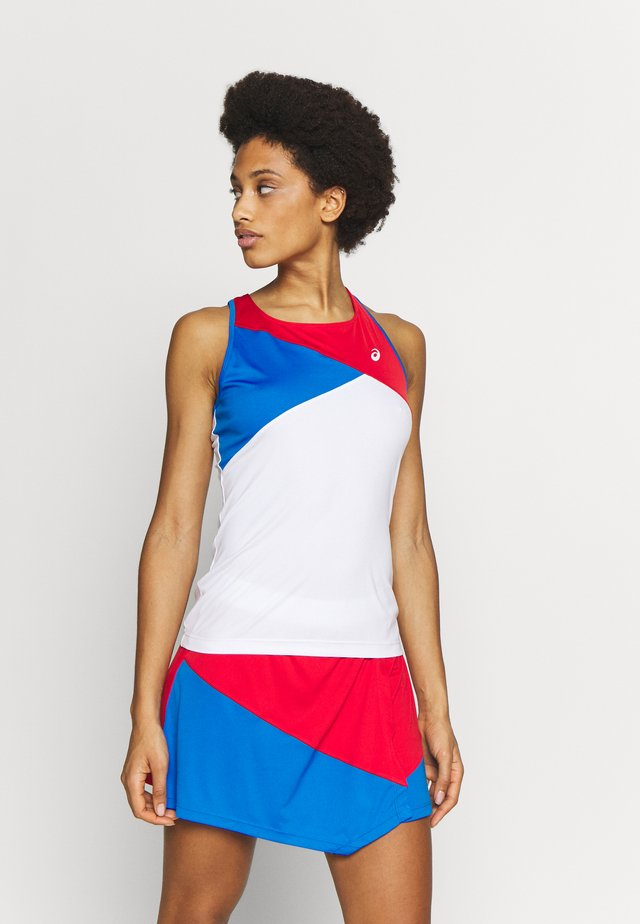 CLUB TANK - Funktionsshirt - electric blue/classic red