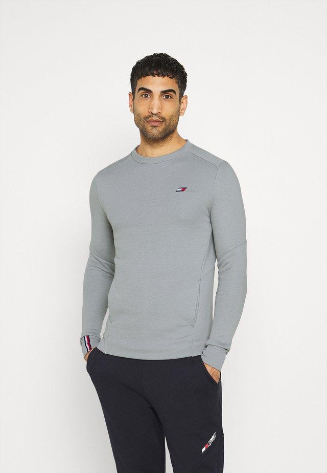 LOGO CREW - Sweater - grey