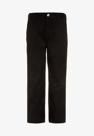 JEAN TROUSERS - Trousers - black