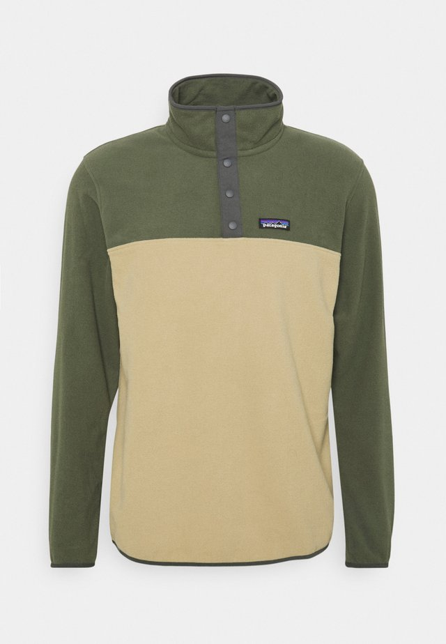 MICRO SNAP - Sweat polaire - classic tan