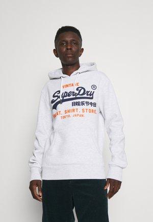 SHOP DUO HOOD - Sweatshirt - ice marl