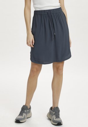 A-line skirt - ombre blue