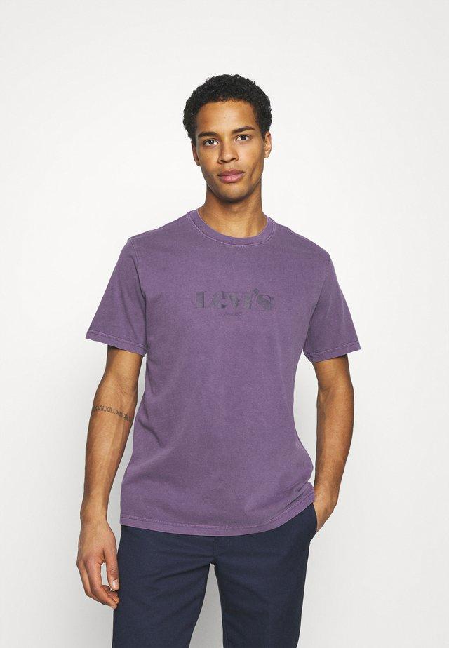Print T-shirt - blues