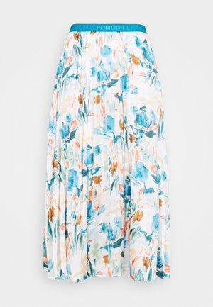 ANIA SKIRT PRINT - Jupe plissée - multicolor