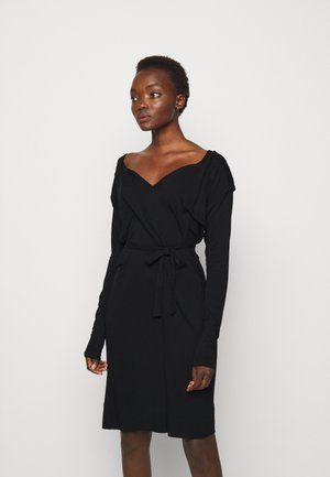 PANEGA DRESS - Jersey dress - black