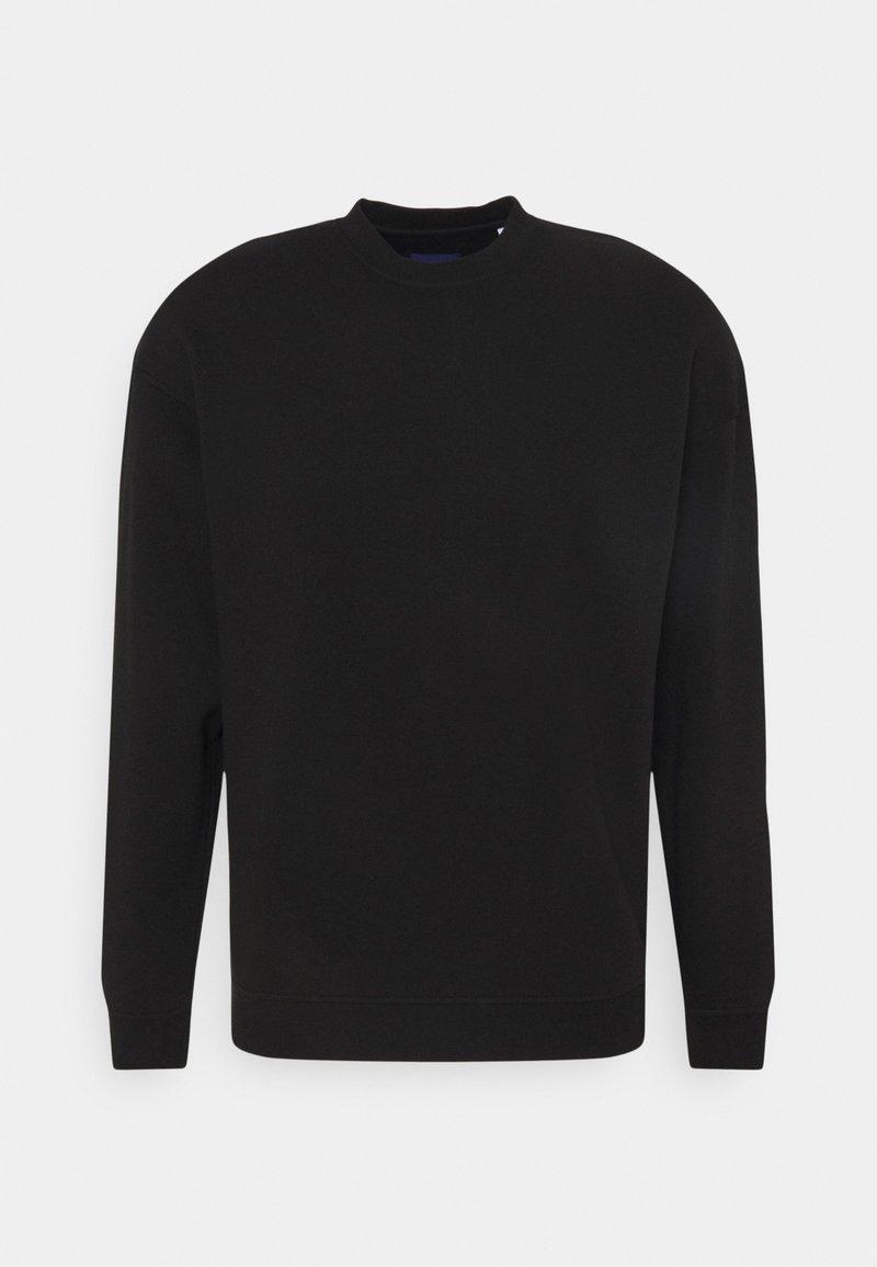 Jack & Jones - JORBRINK CREW NECK - Sweatshirt - black