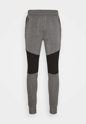 Tracksuit bottoms - charcoal marl/black