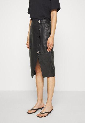 DERI - Pencil skirt - black