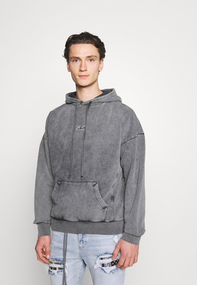 RELAXED FIT TRAVEL SET HOODIE - Sweater - acid wash