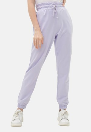Tracksuit bottoms - lilac