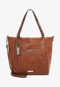 FRANZY - Shopping bag - cognac 700