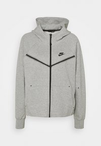 Nike Sportswear - Sudadera con cremallera - grey heather/black - 0