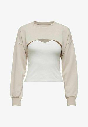 Sweatshirt - pumice stone