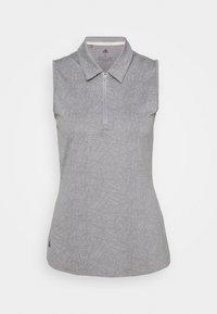 adidas Golf - PERFORMANCE SPORTS GOLF SLEEVELESS - Poloshirt - glory grey - 5