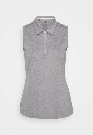 PERFORMANCE SPORTS GOLF SLEEVELESS - Poloshirt - glory grey