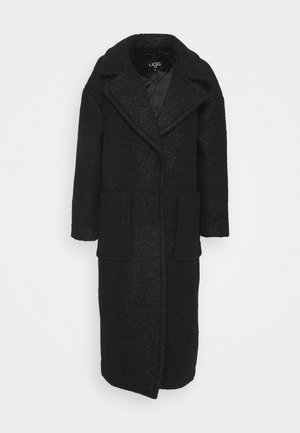 HATTIE LONG OVERSIZED COAT - Classic coat - black