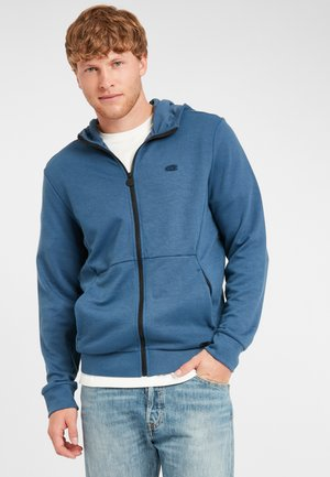 Zip-up hoodie - ensign blue