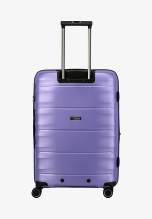 HIGHLIGHT - Wheeled suitcase - lilac metallic