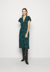 Diane von Furstenberg - CECILIA MIDI - Vapaa-ajan mekko - emerald - 0
