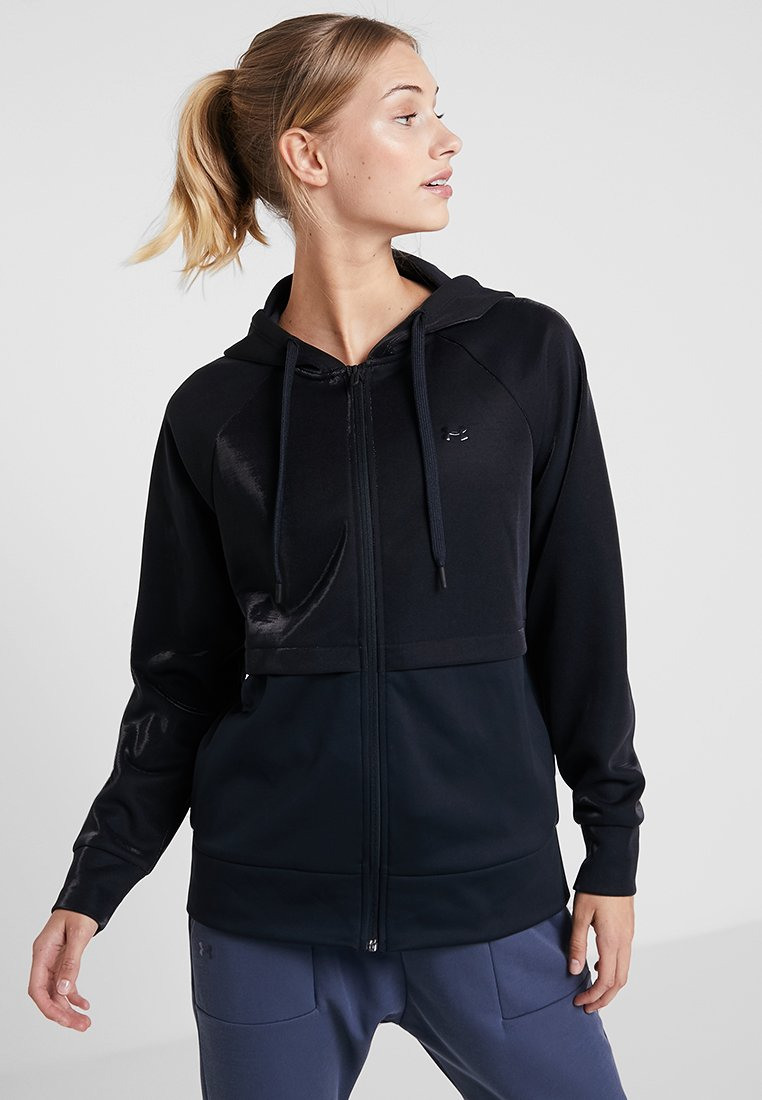 Under Armour - MIRAGE - Fleece jacket - black/onyx