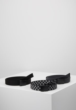 BELTS TRIO 3 PACK - Cintura - grey/black