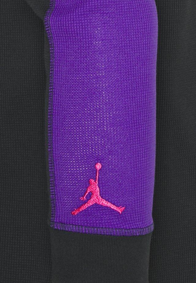 MOUNTAINSIDE THERMAL - Long sleeved top - black/neptune green/court purple