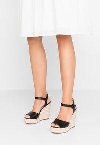 ALDO - YBELANI - High heeled sandals - black - 0