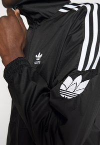 adidas Originals - UNISEX - Training jacket - black/white - 5