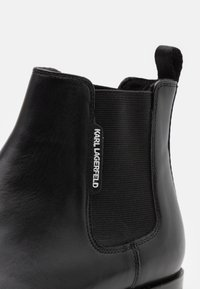 KARL LAGERFELD - MARTE - Classic ankle boots - black - 5