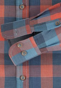 Casamoda - Shirt - orange/blue - 3