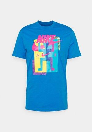 TEE AIR - T-shirt con stampa - photo blue