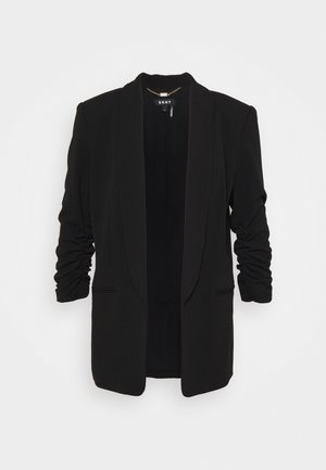RUCHED SLEEVE OPEN  - Blazer - black