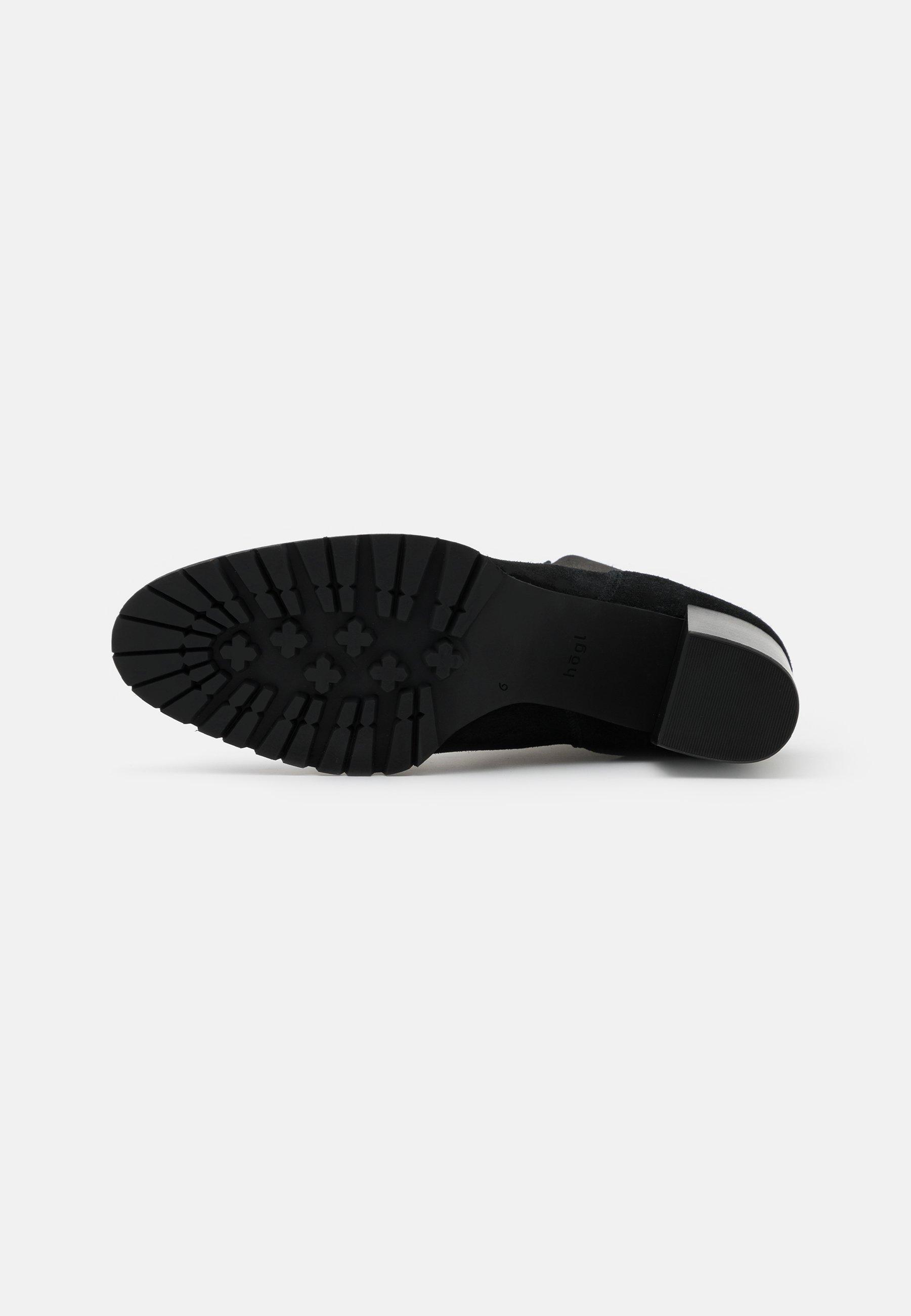 Högl Stiefelette schwarz/schwarz