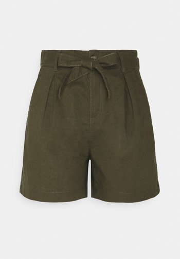 Shorts - khaki/green