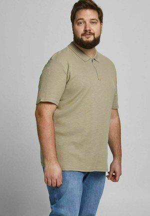 STRUKTURIERT REISSVERSCHLUSS - Polo shirt - crockery