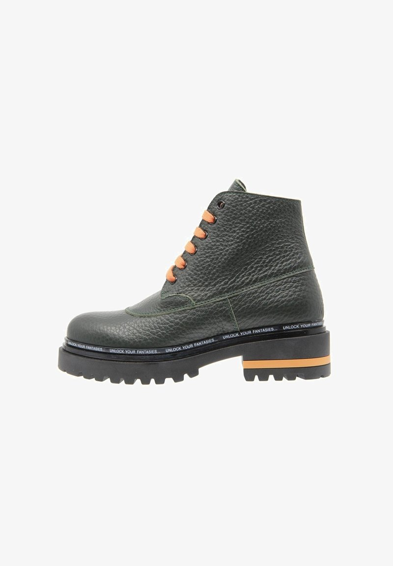 DOMBERS - LIMITLESS - Bottines à lacets - verde oscuro