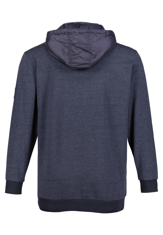 JP1880 Sweat à capuche - blue