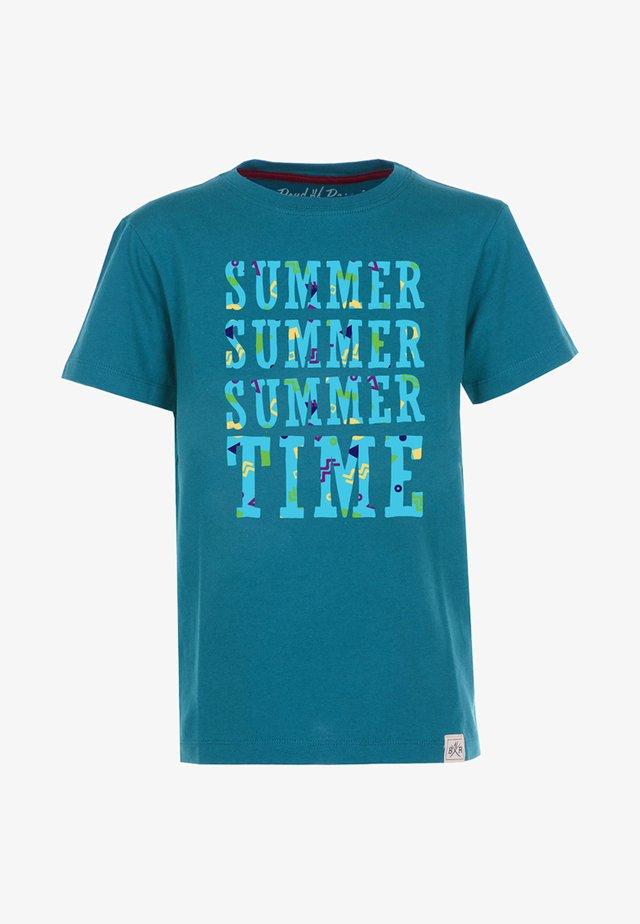 SUMMER TIME - T-shirts print - petrol