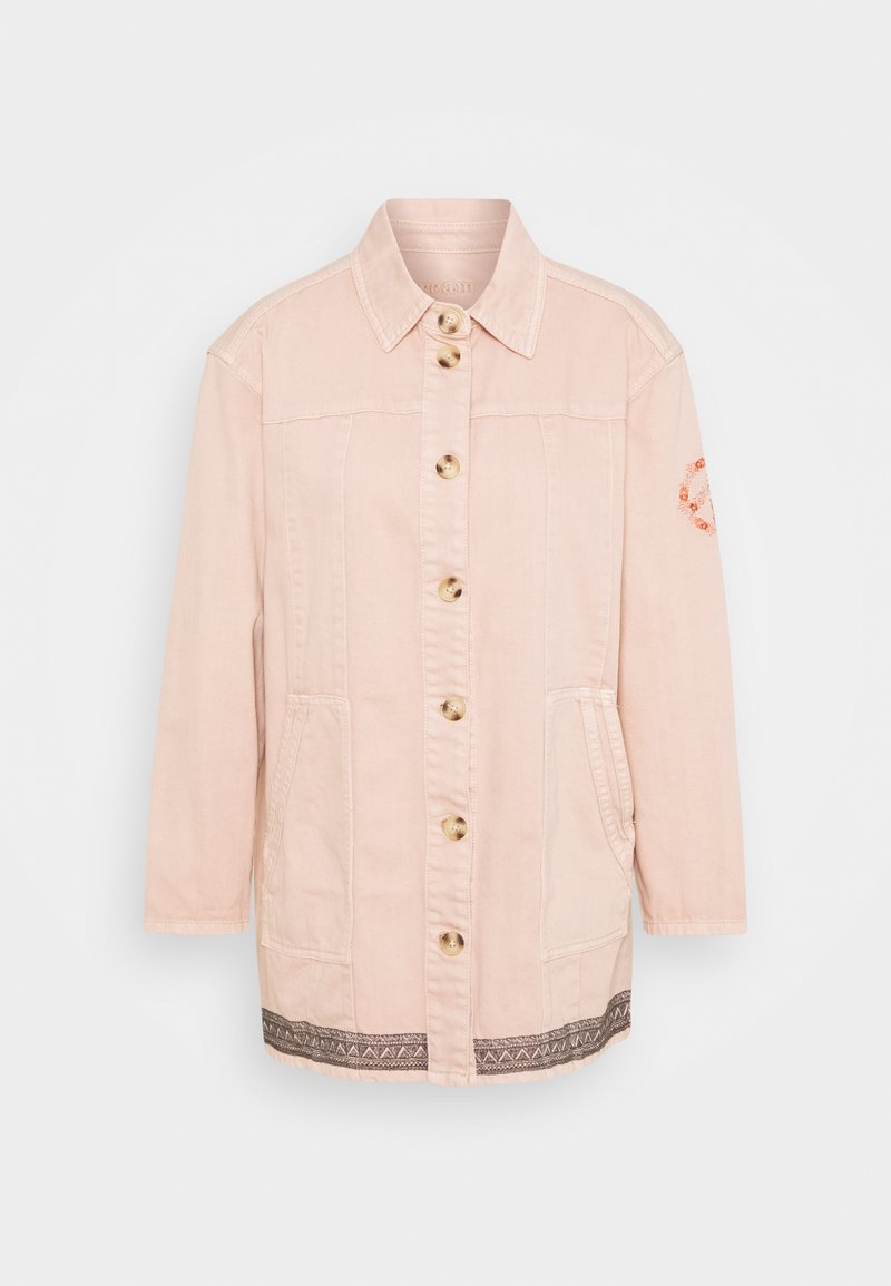 Cream - JACKET - Short coat - dusty coral