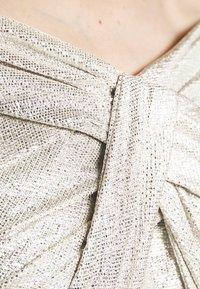 Lauren Ralph Lauren - QUINCY SLEEVELESS EVENING DRESS - Abito da sera - silver - 4