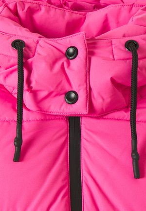 ONLSILJE PUFFER JACKET - Light jacket - shocking pink