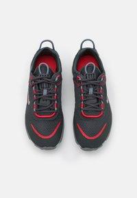 Nike Sportswear - REACT LIVE UNISEX - Trainers - dark smoke grey/university red/smoke grey/light smoke grey - 3