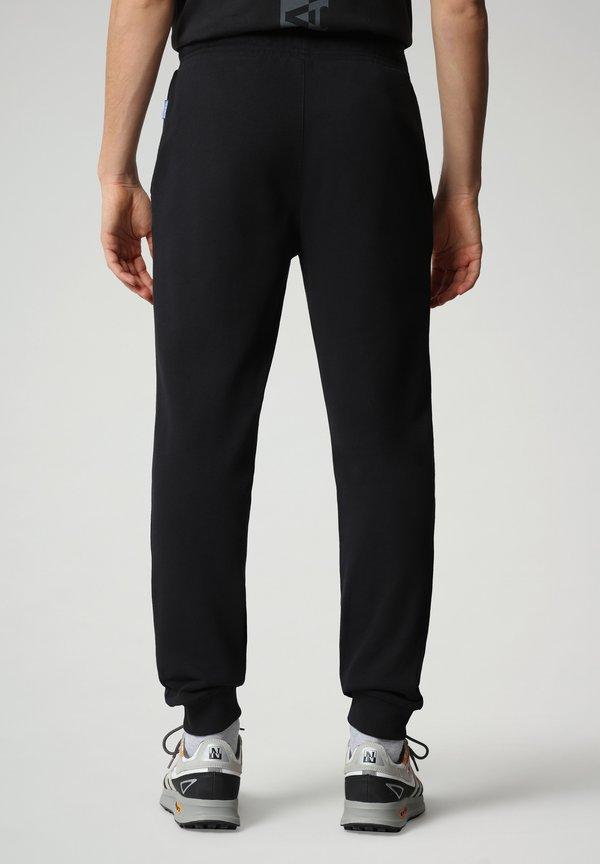 Napapijri Spodnie treningowe - black/czarny Odzież Męska HBAS