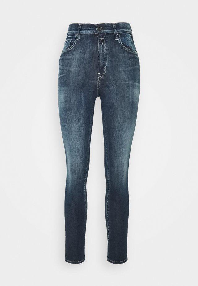 LEYLA HYPERFLEX BIO - Jeans Skinny Fit - dark blue