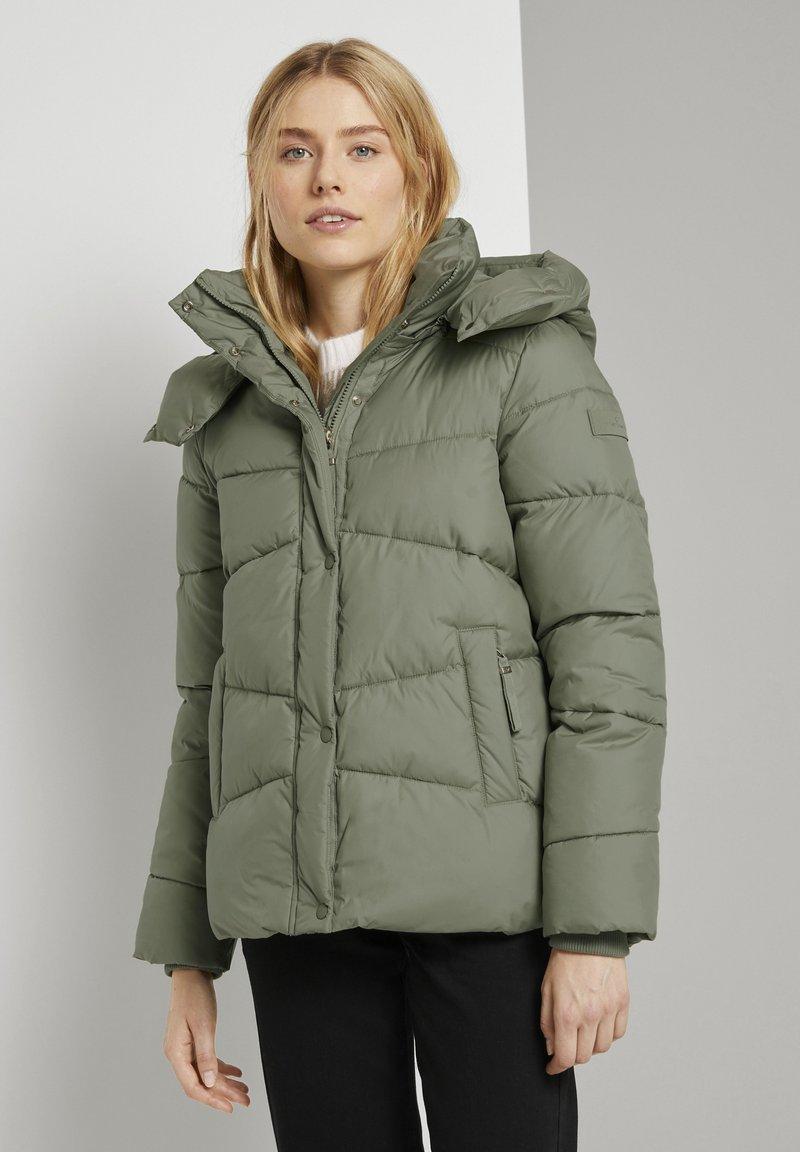 TOM TAILOR - Winter jacket - greyish green