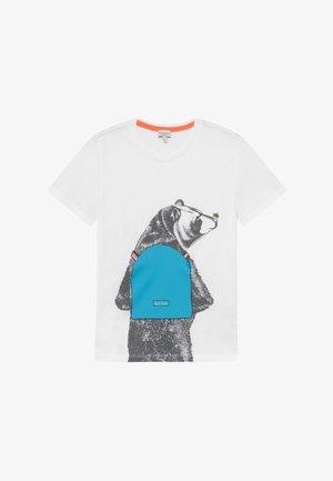 ADALO - Print T-shirt - white